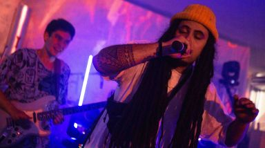 Live Photos: Yoko-Zuna, Wax Chattels - Raynham Park, Auckland
