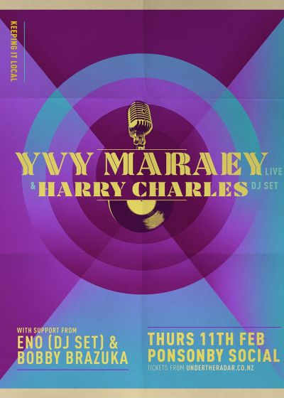 Yvy Maraey and Harry Charles Live