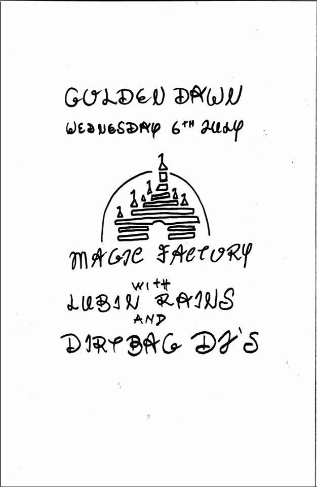 Magic Factory with Lubin Rains and Dirtbag DJs