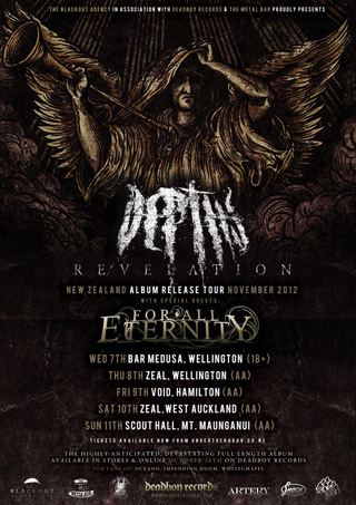 Depths NZ Album Release Tour