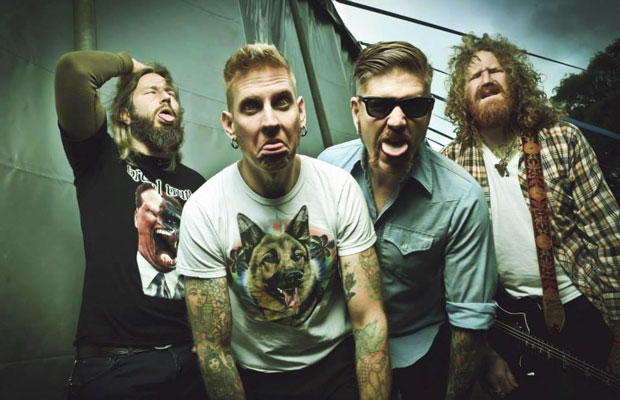 As we were tipped off earlier this week thanks to a Facebook post, sludge-rock titans Mastodon are heading downunder to tour next year. It has now been confirmed that the Atlanta outfit will be heading to Auckland for a one-off show in March... <a href='/news/9157/Mastodon-Confirmed-To-Play-NZ-With-Beastwars.utr'>more</a>