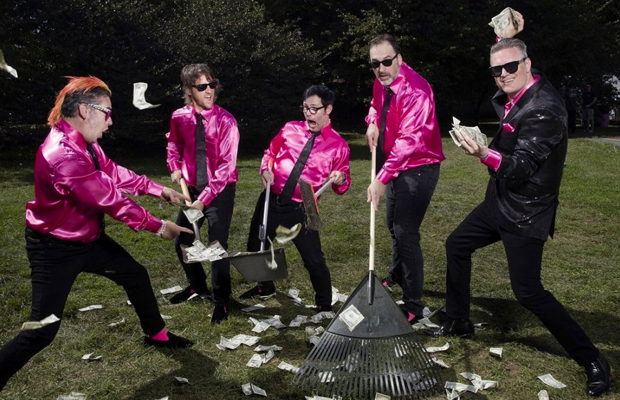 Star-studded punk rock crew Me First and The Gimme Gimmes are returning to New Zealand for two shows in October. The group, which brings together members of Lagwagon, Bad Religion and Frenzal Rhomb, are heading downunder having just released their... <span class='readMoreLink'><a href='/news/12649/Me-First-And-The-Gimme-Gimmes-Announce-Two-North-Island-Shows.utr'>&mdash;more</a></span>