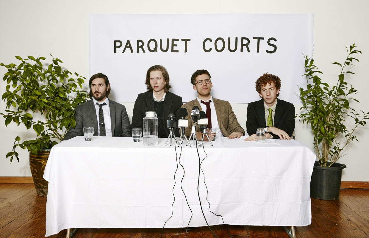 Earlier this month Parquet Courts lifted the lid off their fifth studio album, the intriguingly titled Human Performance. Following on from their 2014 full-length offerings Sunbathing Animal and Content Nausea (which brought them to New Zealand for a... <span class='readMoreLink'><a href='/news/11062/Interview-Parquet-Courts.utr'>&mdash;more</a></span>