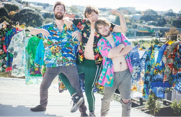 Auckland trio Rackets, who just completed a punishing  20 show tour of Auckland, have released their highly-anticipated new record Walking The Skeleton. Loaded with 12-tracks of &quot;rock music from the heart&quot;, the album has been three years... <span class='readMoreLink'><a href='/news/9882/Stream-Rackets-New-Album-Walking-The-Skeleton.utr'>&mdash;more</a></span>