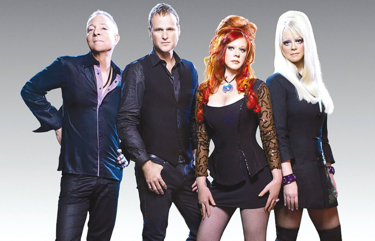 Simple Minds and The B-52's