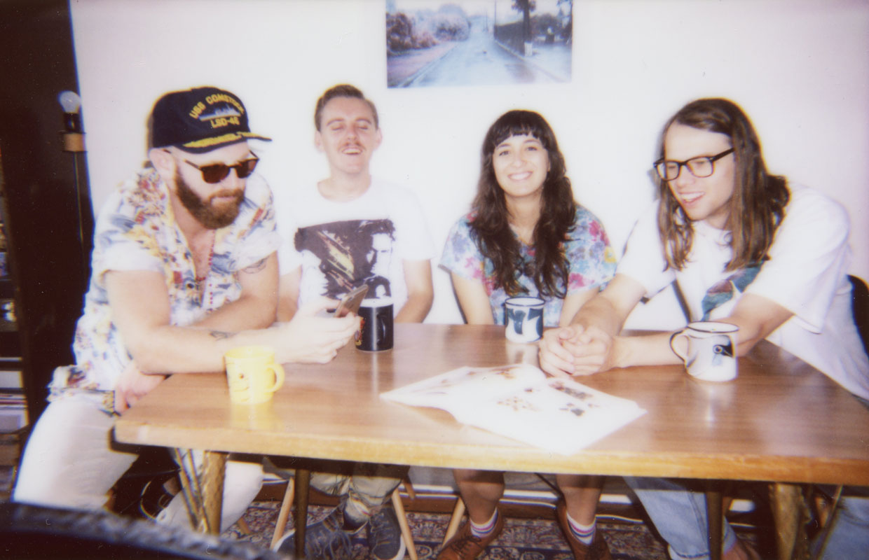UnderTheRadar is stoked to present the brand new video for 'Whatever', the addictive single from Auckland's rising indie-rock darlings The Beths. Directed by Alex Hoyles of Pikdat, the video sees the bandmembers faced with their stuff blinking out of... <span class='readMoreLink'><a href='/news/11173/UTR-Premiere-Watch-The-Beths-New-Video-For-Whatever--Interview.utr'>&mdash;more</a></span>