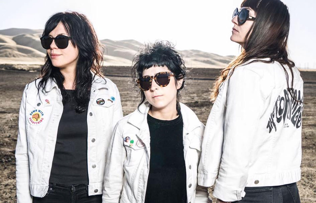 Atlanta punks The Coathangers will be swinging into the country this weekend for two shows in support of their fifth studio album Nosebleed Weekend. Unleashed earlier this year via Suicide Squeeze Records, the album was laid down... <span class='readMoreLink'><a href='/news/11675/Heres-Five-The-Coathangers.utr'>&mdash;more</a></span>