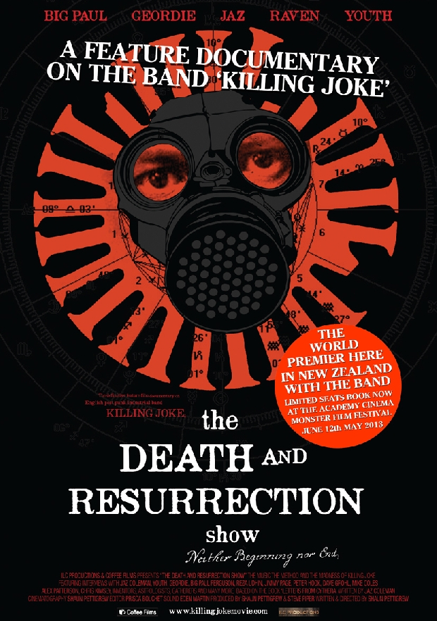 Resultat d'imatges de killing joke the death and resurrection show
