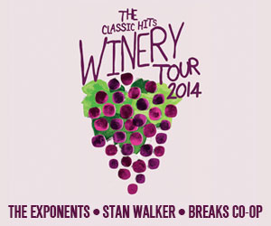 The Classic Hits Winery Tour