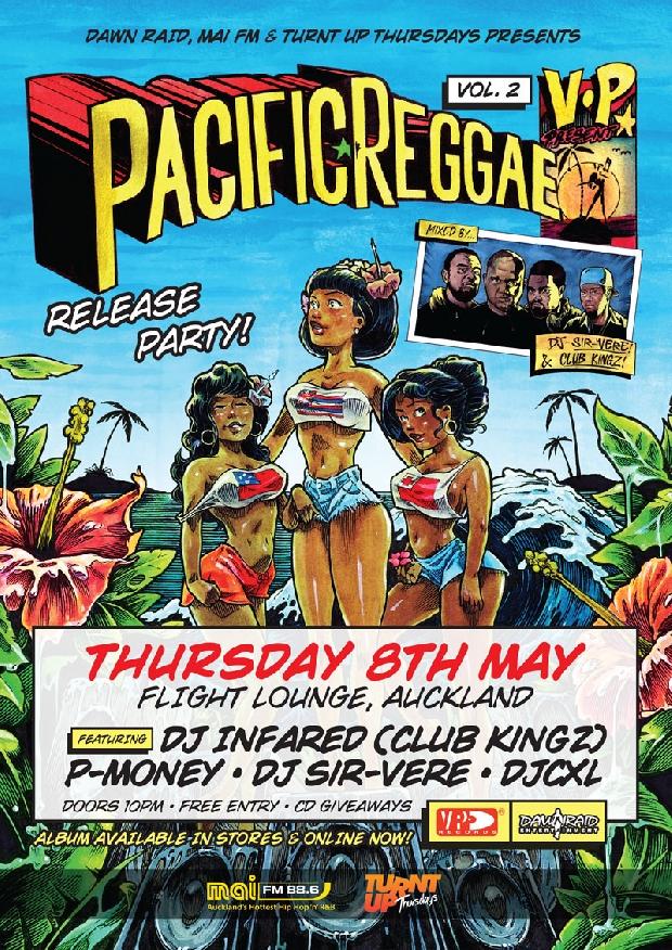 VP Pacific Reggae Vol 2 Release Party - Flight Lounge