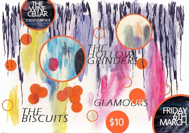 The Hollow Grinders With The Biscuits and Glamours