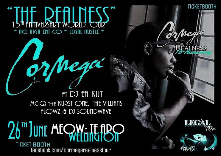 Cormega - The Realness 15 Year Anniversary Tour