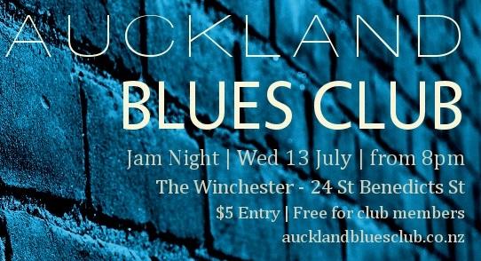 Auckland Blues Club Jam Night