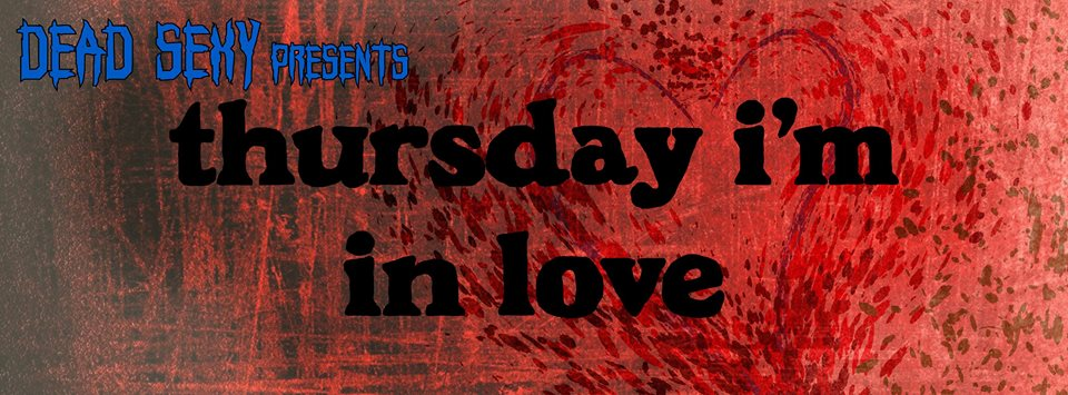 Thursday I'm In Love - The Cure Pre/After Party