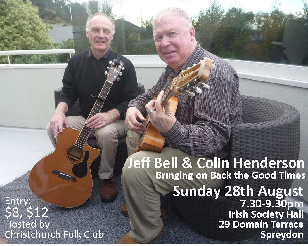 Jeff Bell And Colin Henderson