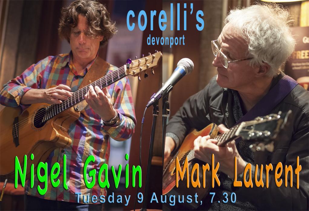 Mark Laurent And Nigel Gavin