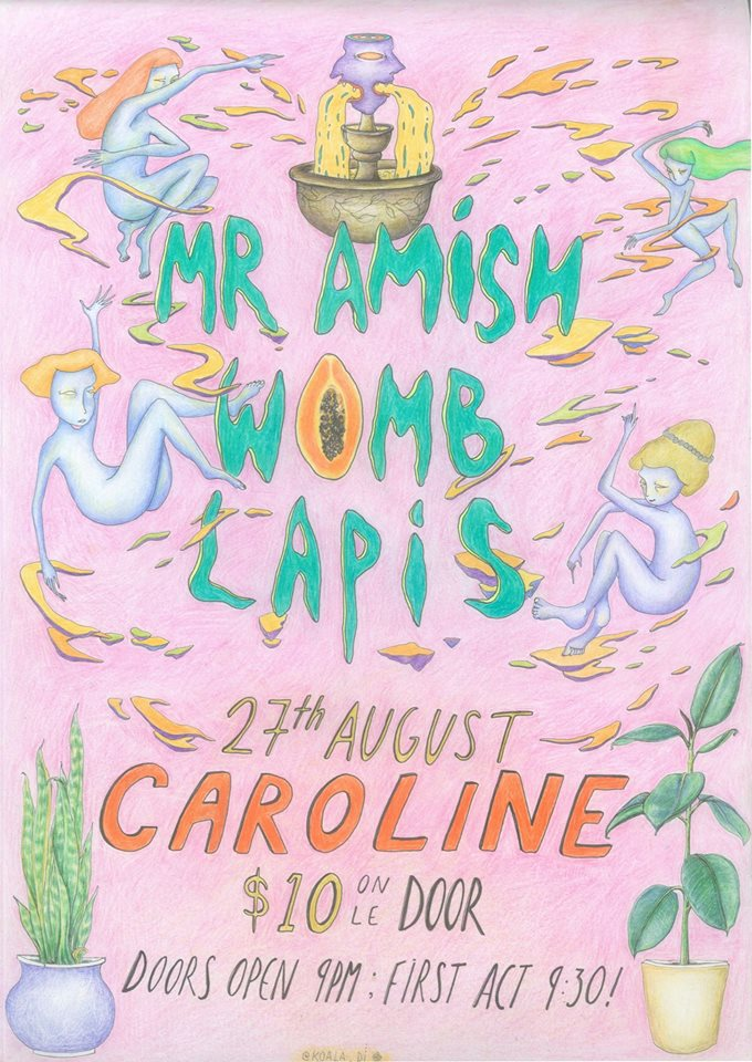 Mr Amish, Womb and Lapis