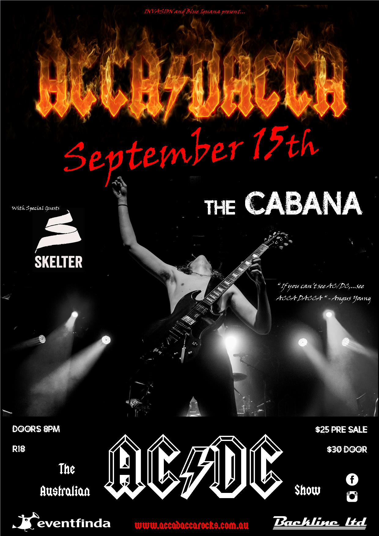 Acca Dacca - The Australian AC/DC Show With Skelter