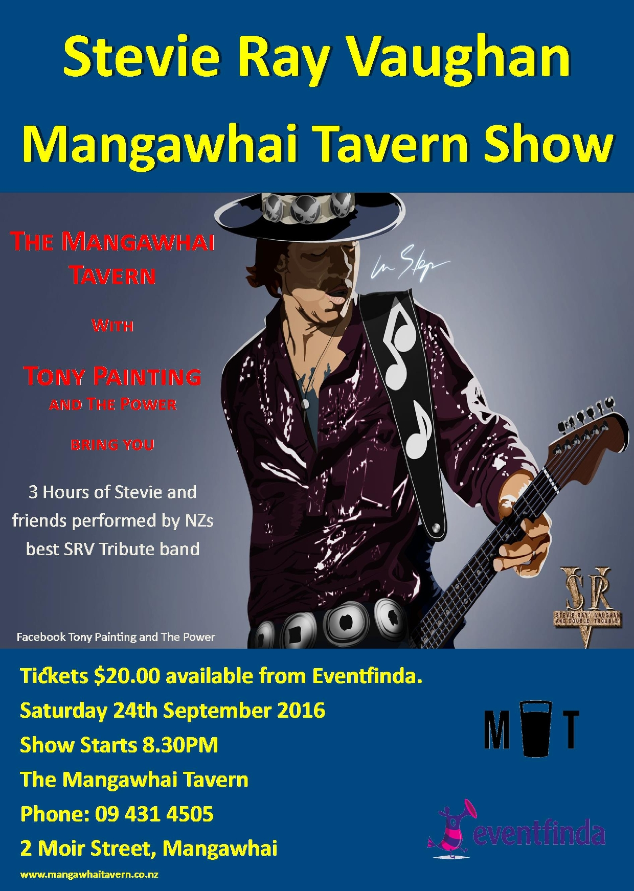 Stevie Ray Vaughan Tribute Show