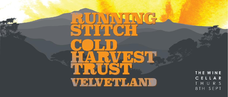 Running Stitch, Cold Harvest Trust And Velvetland