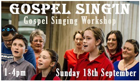 Gospel Singing Workshop With Lisa Tui And Bright On Vibes