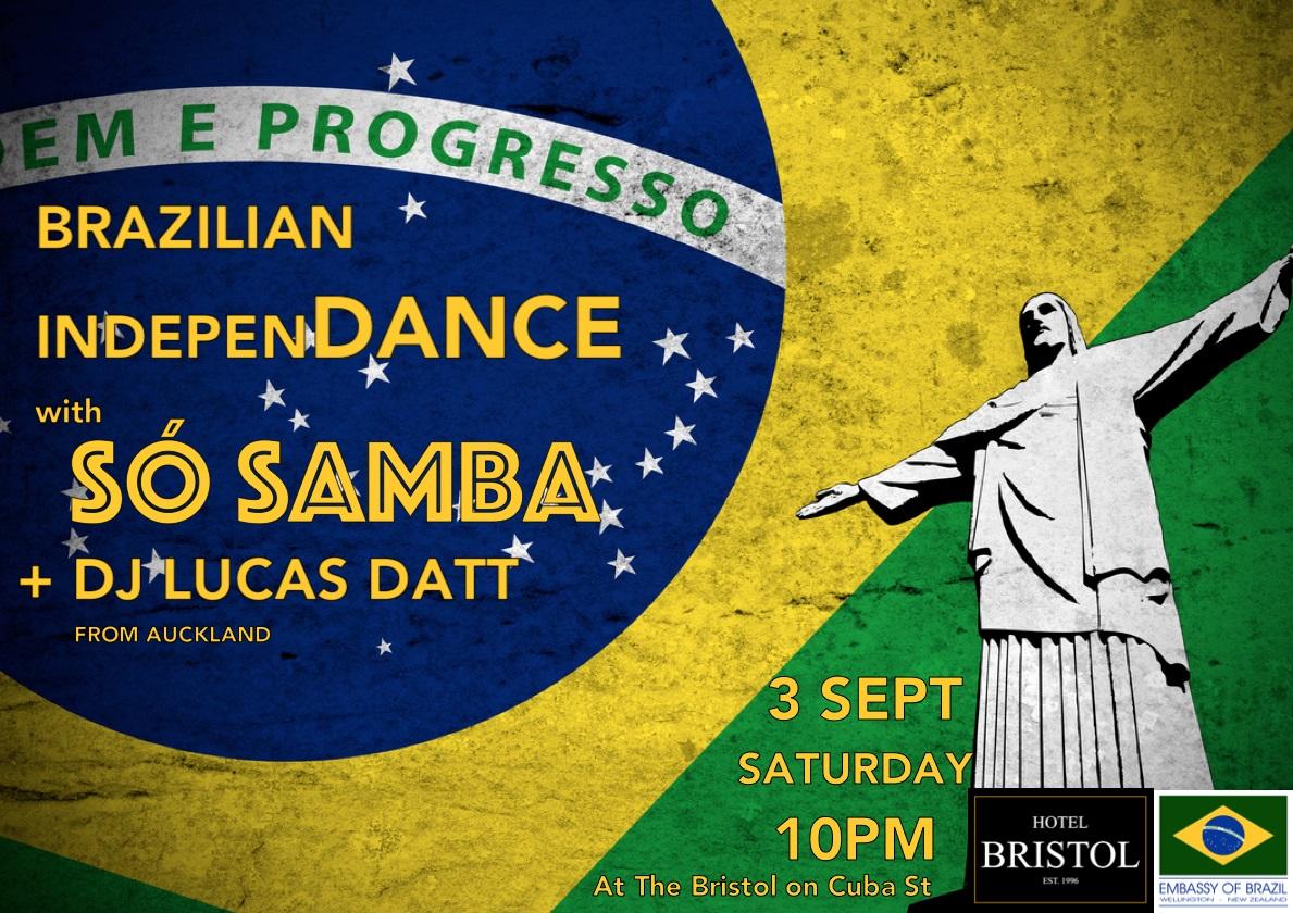Brazilian Independance - So Samba with DJ Lucas Datt