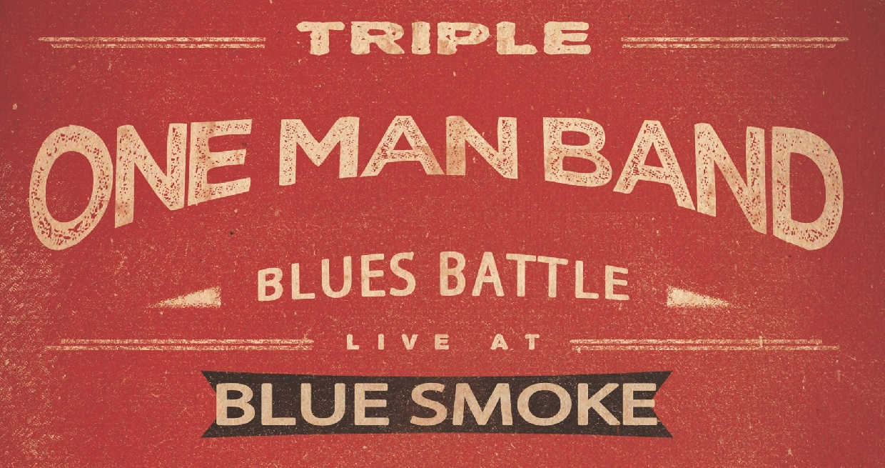 Triple One Man Band Blues Battle II