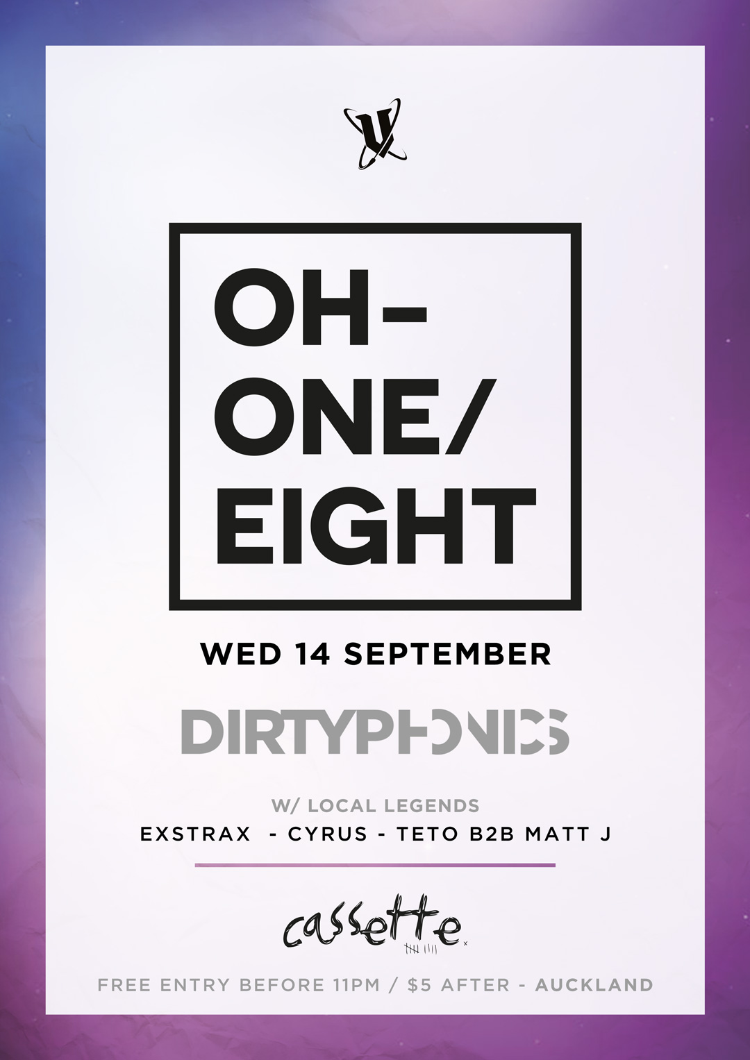 OH ONE EIGHT: Auckland Feat Dirtyphonics France