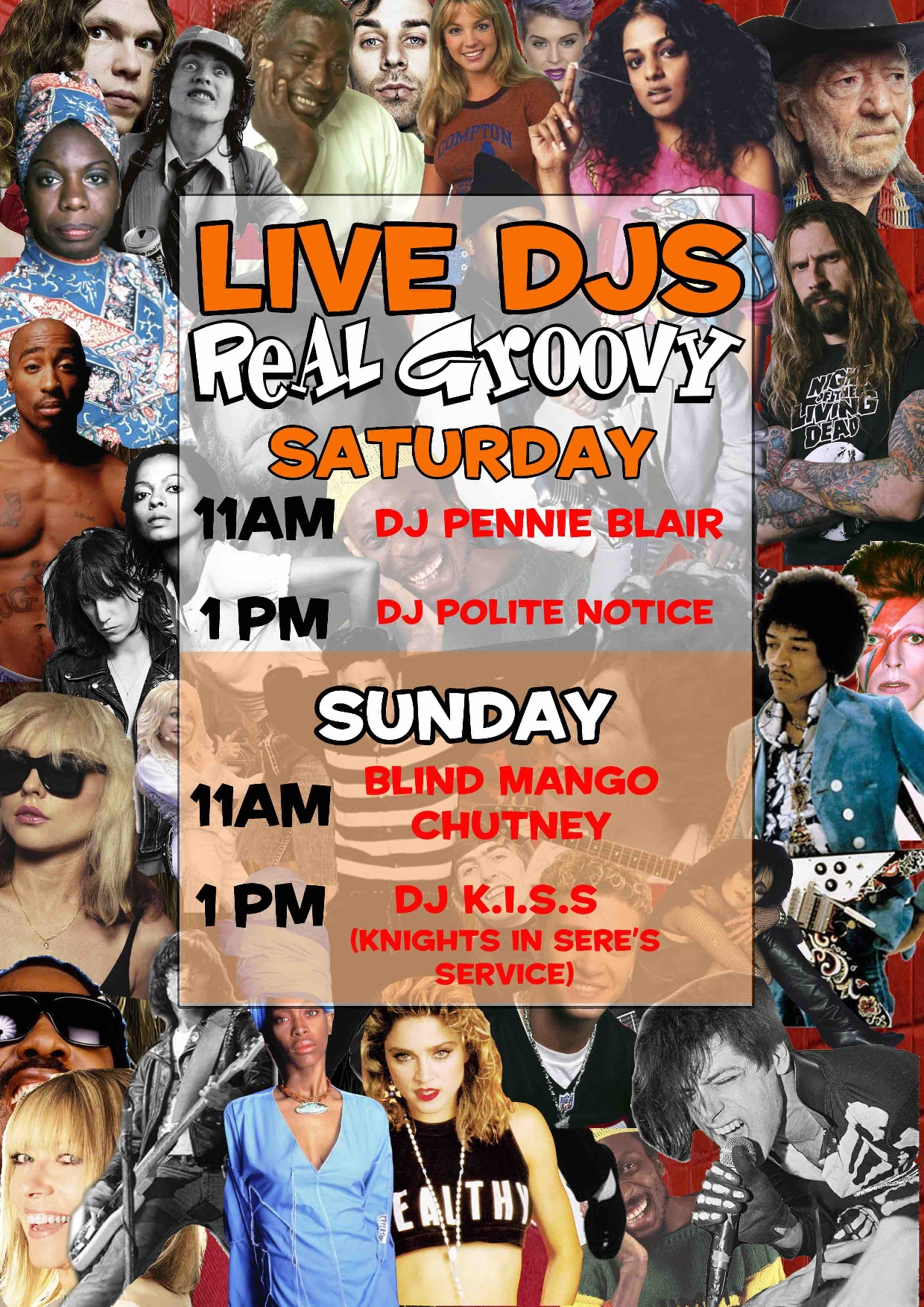 Live DJs At Real Groovy: Pennie Black and DJ Polite Noice