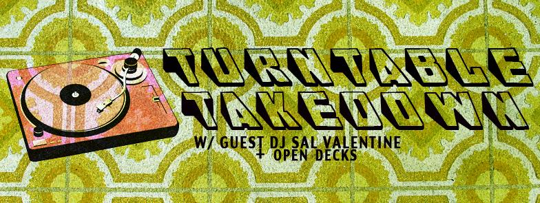 Turntable Takedown With DJ Sal Valentine