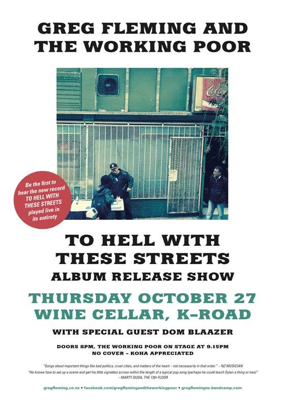 To Hell With These Streets Album Release - The Wine Cellar