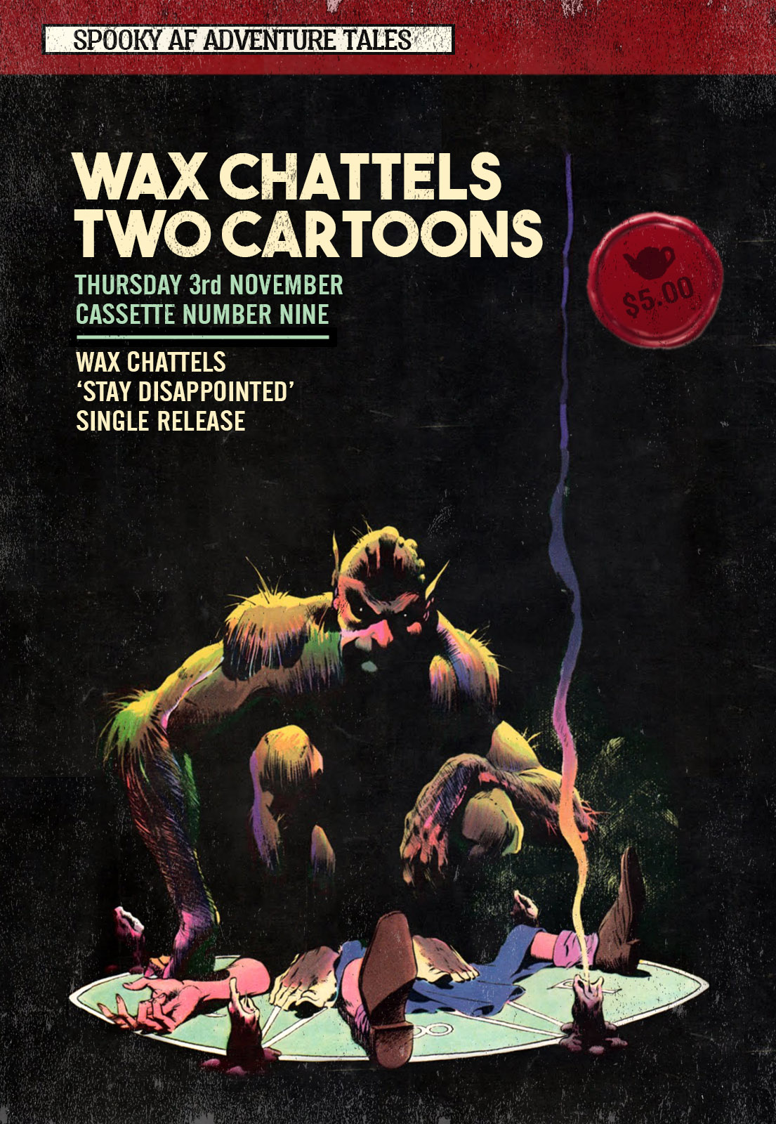 Wax Chattels Single Release Party With Two Cartoons