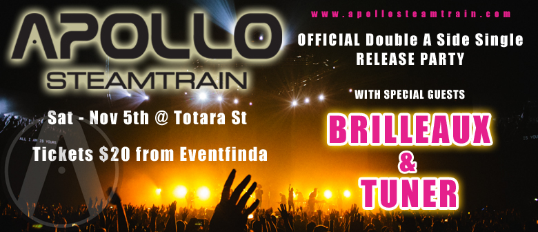 Apollo SteamTrain Single Release Party