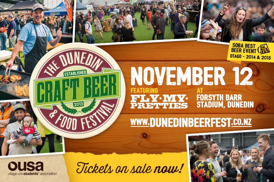 The Dunedin Craft Beer And Food Festival