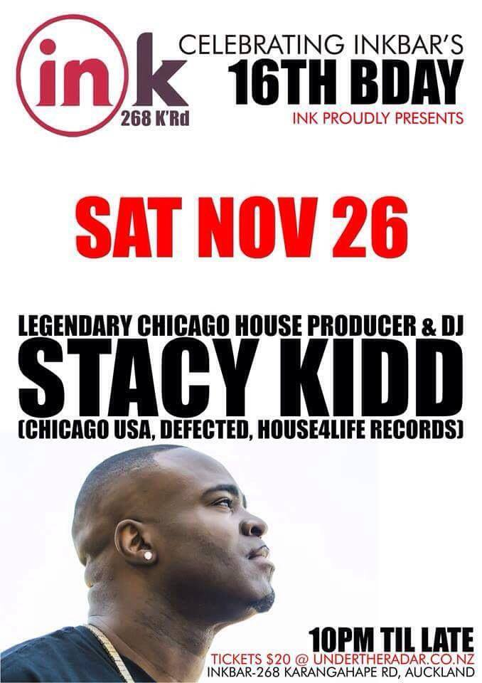 Ink 16th Birthday feat. Stacy Kidd (Chicago)