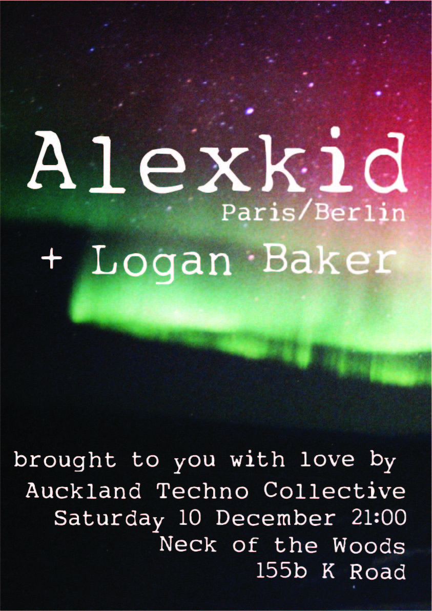 Auckland Techno Collective Presents Alexkid