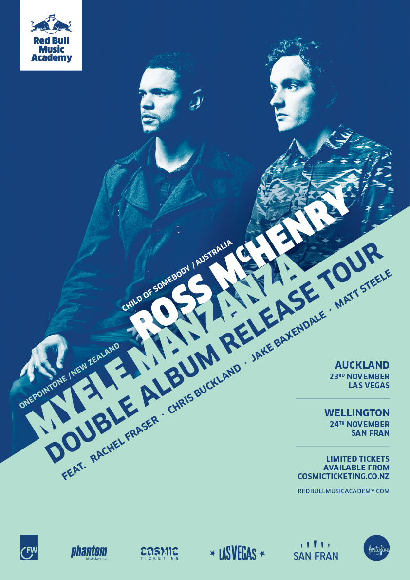 Ross McHenry And Myele Manzanza Double Album Release Show