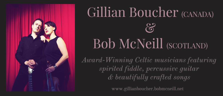 Award Winning Celtic Duo - Gillian Boucher And Bob McNeill
