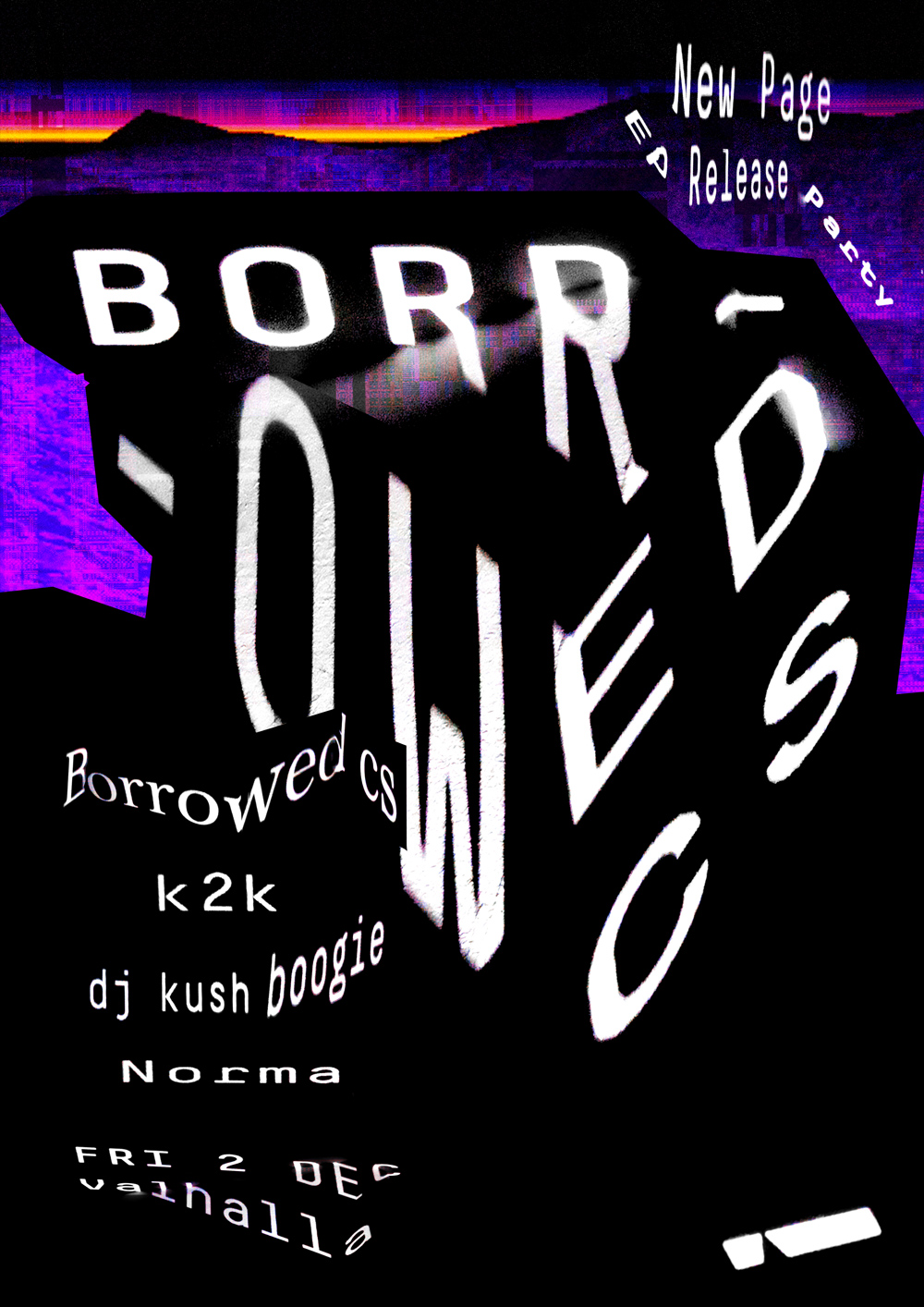 Borrowed Cs 'New Page' Ep Release Party