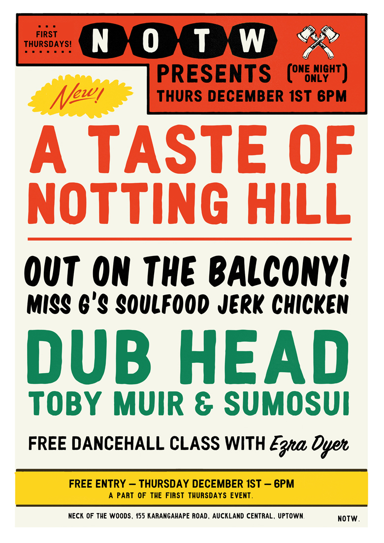 Neck Of The Woods Presents A Taste Of Nottinghill