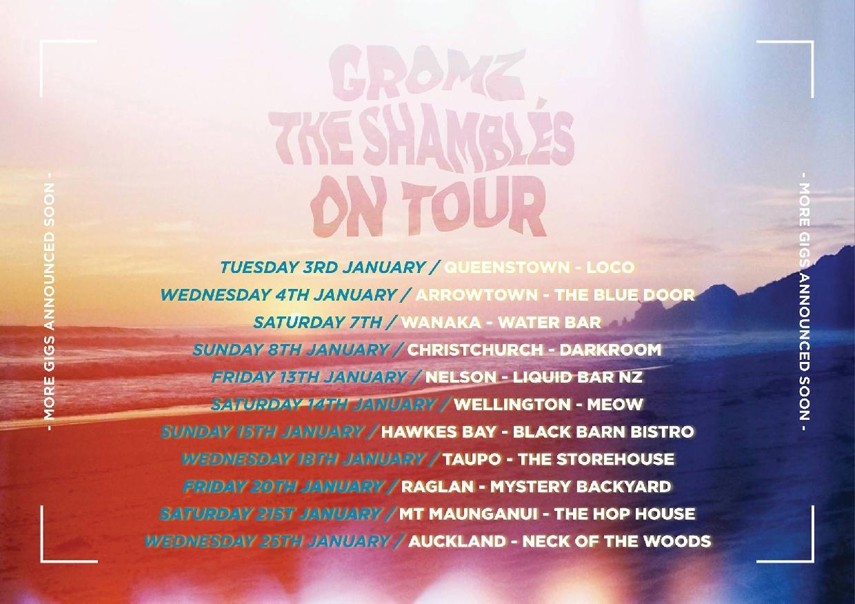 Grambles Tour - GROMz x The Shambles