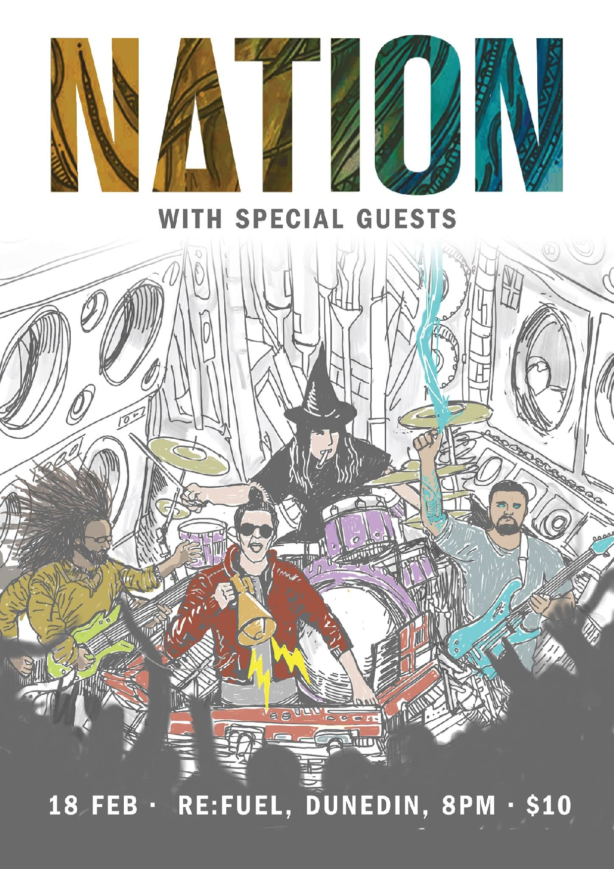 Nation - South Island Tour