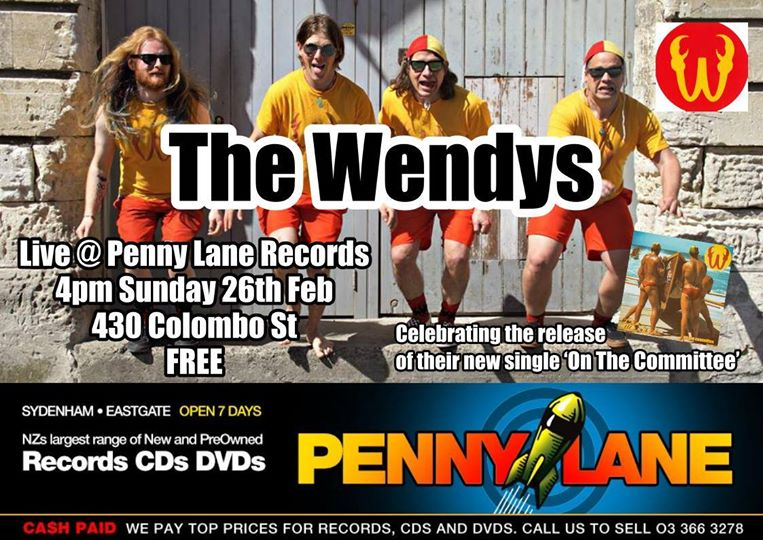 The Wendys Live At Penny Lane Records