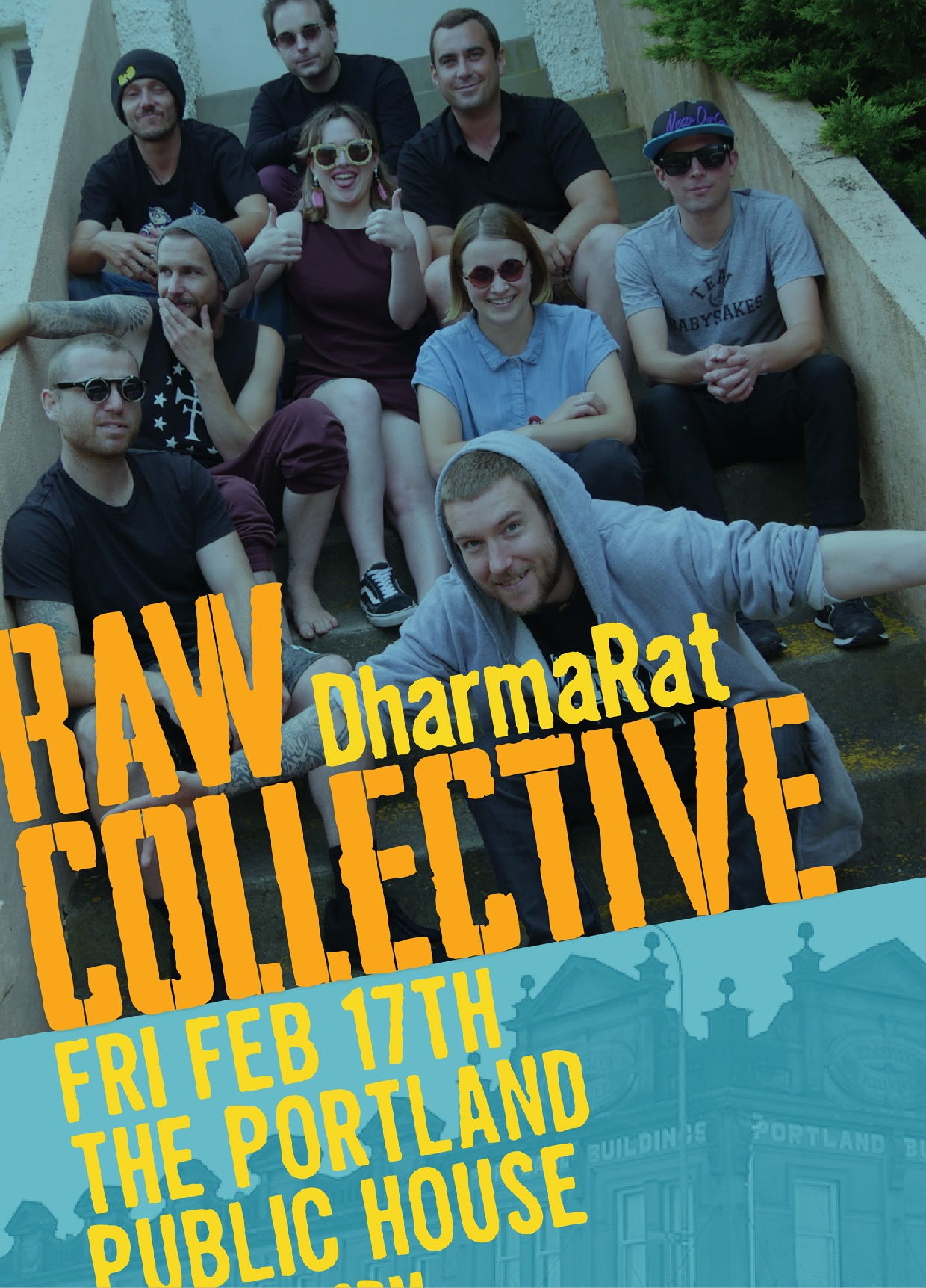 Raw Collective With DharmaRat