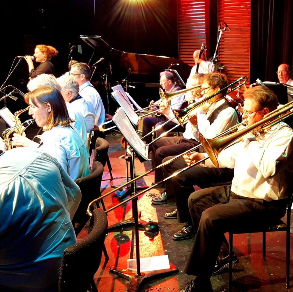 Nelson Jazz Club Big Band With Dan Moon