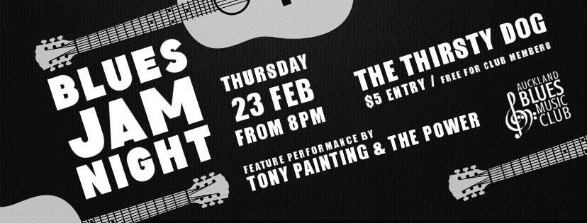 Blues Jam With Tony Painting And The Power