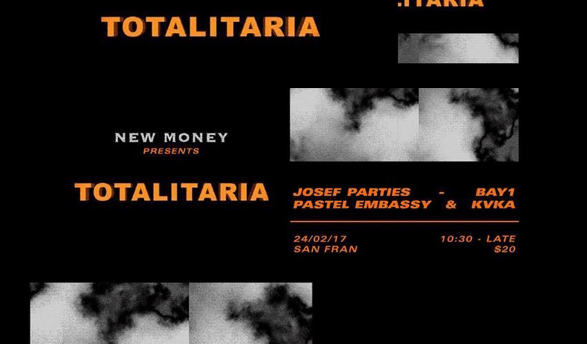 New Money Presents: Totalitaria