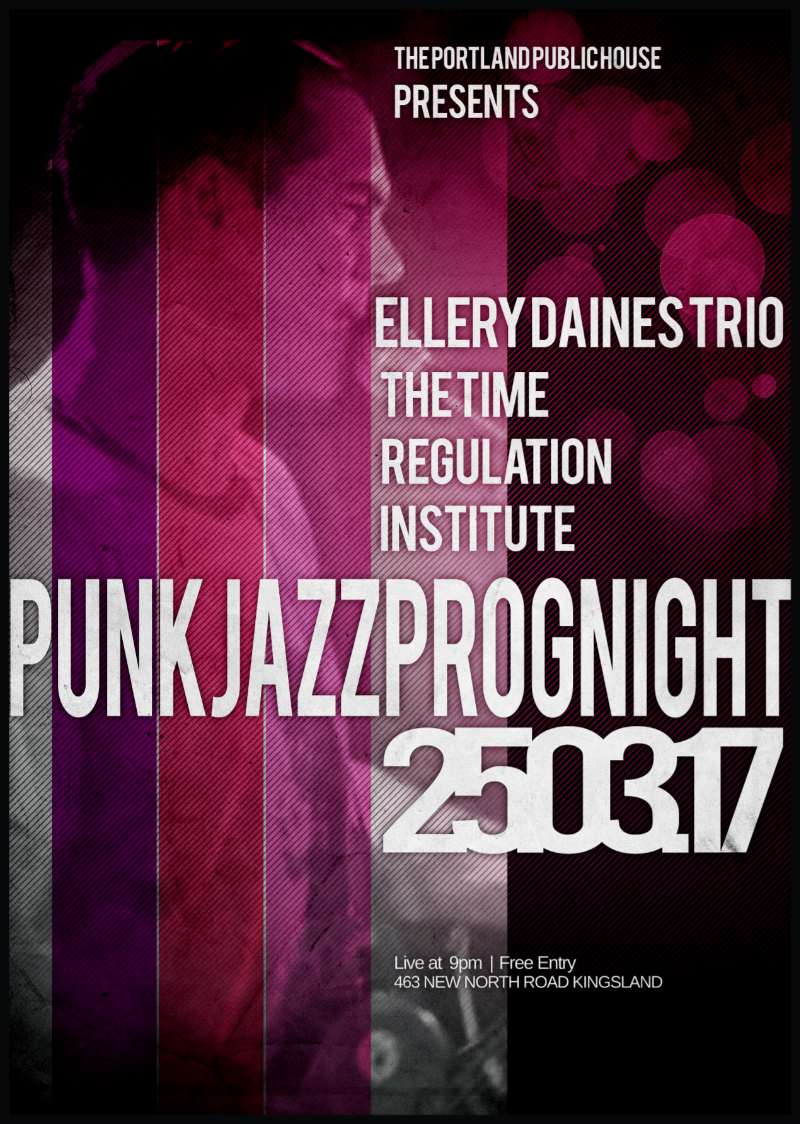 Ellery Daines Trio & The Time Regulation Institute