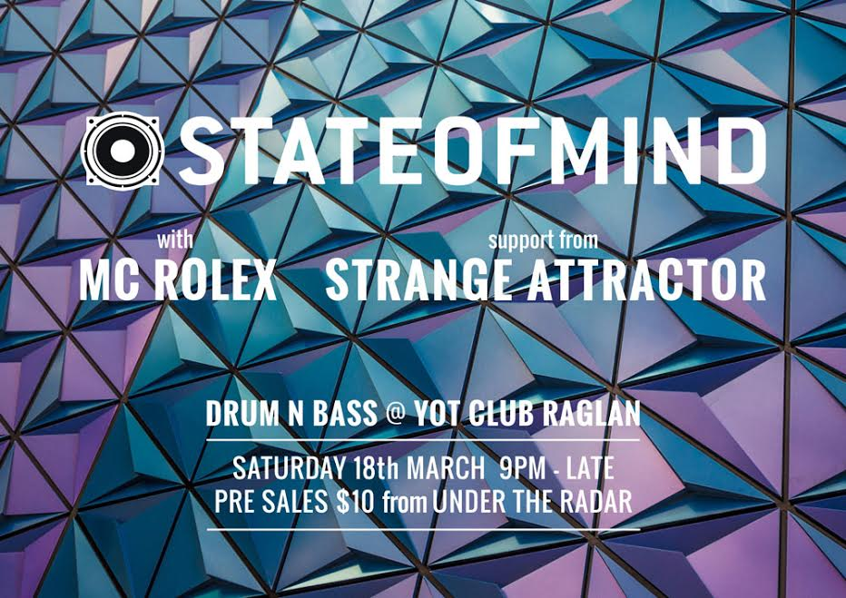 State Of Mind, Mc Rolex, Strange Attractor