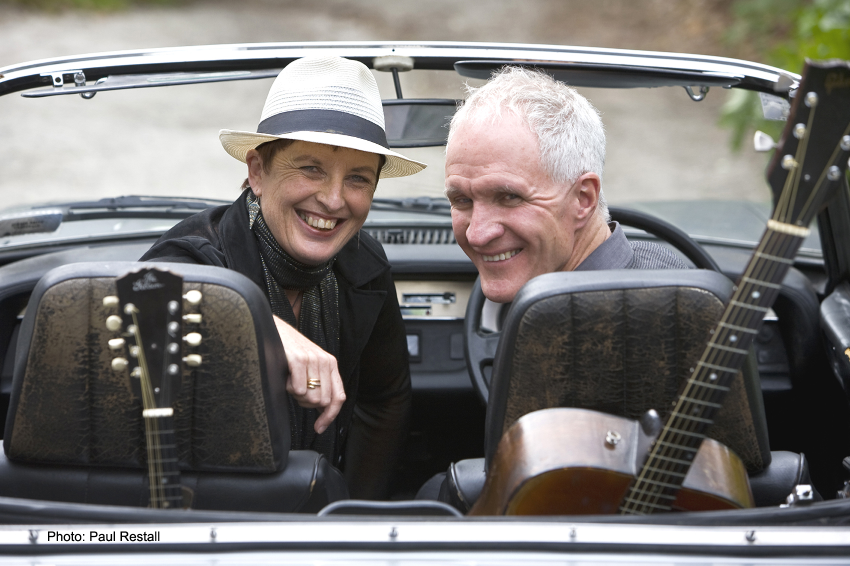 Mark Laurent And Brenda Liddiard at the Whangarei Folk Club